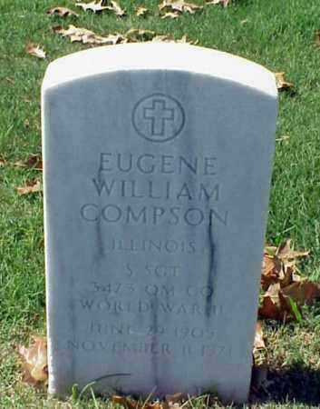 COMPSON (VETERAN WWII), EUGENE WILLIAM - Pulaski County, Arkansas | EUGENE WILLIAM COMPSON (VETERAN WWII) - Arkansas Gravestone Photos