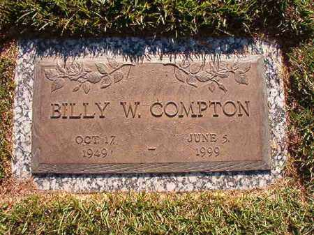 COMPTON, BILLY W - Pulaski County, Arkansas | BILLY W COMPTON - Arkansas Gravestone Photos