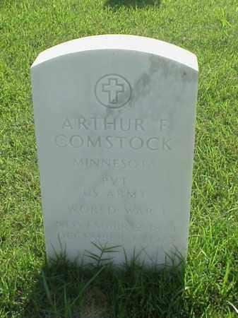 COMSTOCK (VETERAN WWI), ARTHUR F - Pulaski County, Arkansas   ARTHUR F COMSTOCK (VETERAN WWI) - Arkansas Gravestone Photos