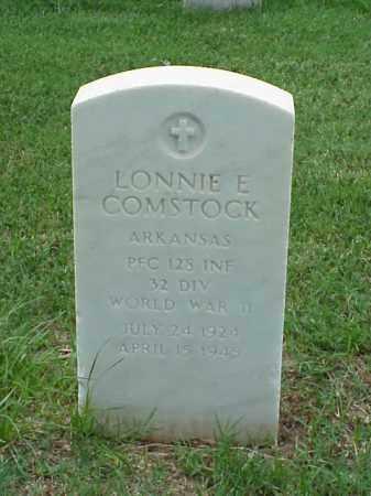 COMSTOCK (VETERAN WWII), LONNIE E - Pulaski County, Arkansas   LONNIE E COMSTOCK (VETERAN WWII) - Arkansas Gravestone Photos