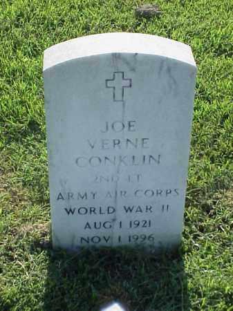 CONKLIN (VETERAN WWII), JOE VERNE - Pulaski County, Arkansas | JOE VERNE CONKLIN (VETERAN WWII) - Arkansas Gravestone Photos