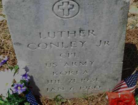 CONLEY JR. (VETERAN KOR), LUTHER - Pulaski County, Arkansas   LUTHER CONLEY JR. (VETERAN KOR) - Arkansas Gravestone Photos