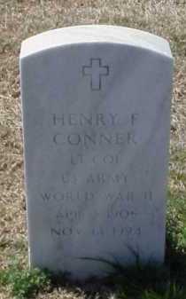 CONNER (VETERAN WWII), HENRY F - Pulaski County, Arkansas | HENRY F CONNER (VETERAN WWII) - Arkansas Gravestone Photos