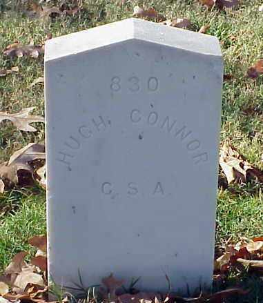 CONNOR (VETERAN CSA), HUGH - Pulaski County, Arkansas | HUGH CONNOR (VETERAN CSA) - Arkansas Gravestone Photos