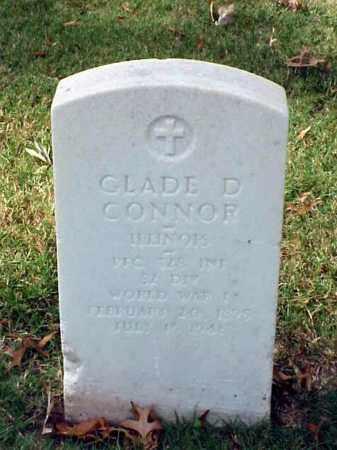 CONNOR (VETERAN WWI), GLADE D - Pulaski County, Arkansas | GLADE D CONNOR (VETERAN WWI) - Arkansas Gravestone Photos