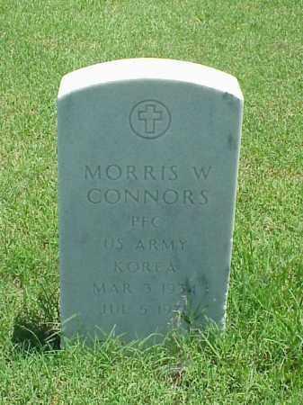 CONNORS (VETERAN KOR), MORRIS W - Pulaski County, Arkansas   MORRIS W CONNORS (VETERAN KOR) - Arkansas Gravestone Photos