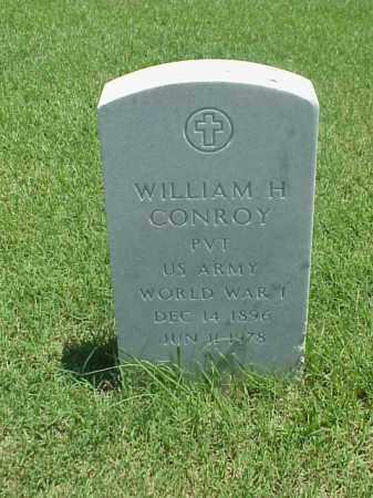 CONROY (VETERAN WWI), WILLIAM H - Pulaski County, Arkansas | WILLIAM H CONROY (VETERAN WWI) - Arkansas Gravestone Photos