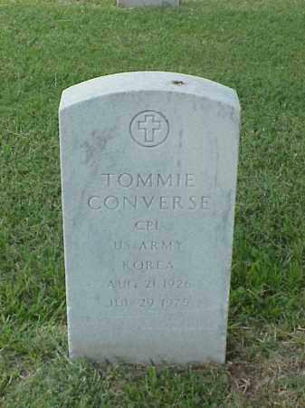 CONVERSE (VETERAN KOR), TOMMIE - Pulaski County, Arkansas | TOMMIE CONVERSE (VETERAN KOR) - Arkansas Gravestone Photos
