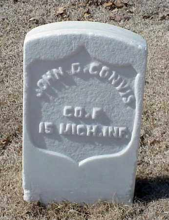 CONVIS (VETERAN UNION), JOHN D - Pulaski County, Arkansas   JOHN D CONVIS (VETERAN UNION) - Arkansas Gravestone Photos