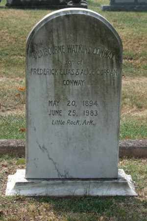 CONWAY, CLAIBOURNE WATKINS - Pulaski County, Arkansas | CLAIBOURNE WATKINS CONWAY - Arkansas Gravestone Photos