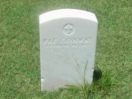 CONWAY (VETERAN UNION), PAT - Pulaski County, Arkansas | PAT CONWAY (VETERAN UNION) - Arkansas Gravestone Photos