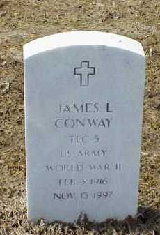 CONWAY (VETERAN WWII), JAMES L - Pulaski County, Arkansas | JAMES L CONWAY (VETERAN WWII) - Arkansas Gravestone Photos