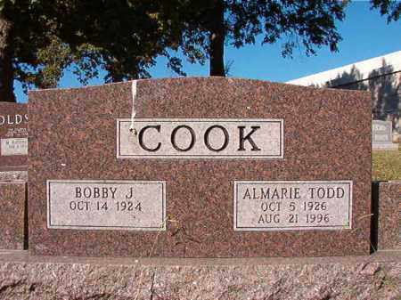 COOK, ALMARIE - Pulaski County, Arkansas | ALMARIE COOK - Arkansas Gravestone Photos