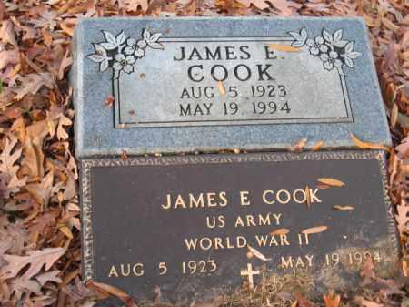 COOK (VETERAN WWII), JAMES E - Pulaski County, Arkansas   JAMES E COOK (VETERAN WWII) - Arkansas Gravestone Photos