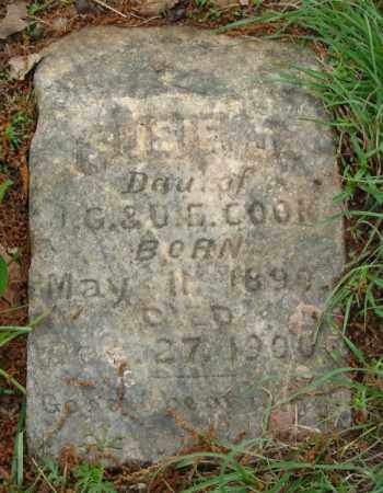 COOK, SUSIE J. - Pulaski County, Arkansas   SUSIE J. COOK - Arkansas Gravestone Photos