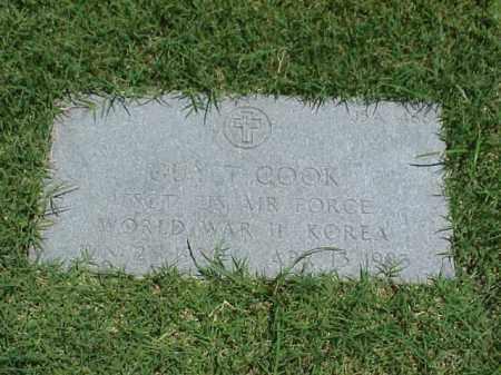 COOK (VETERAN 2 WARS), GUY T - Pulaski County, Arkansas   GUY T COOK (VETERAN 2 WARS) - Arkansas Gravestone Photos