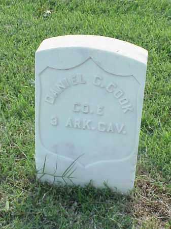 COOK (VETERAN UNION), DANIEL C - Pulaski County, Arkansas | DANIEL C COOK (VETERAN UNION) - Arkansas Gravestone Photos