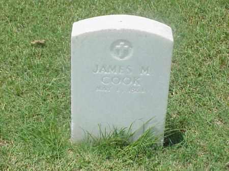COOK (VETERAN UNION), JAMES M - Pulaski County, Arkansas | JAMES M COOK (VETERAN UNION) - Arkansas Gravestone Photos