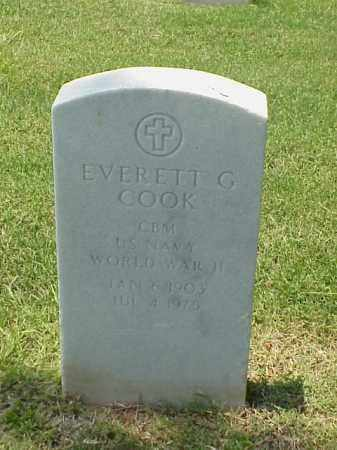 COOK (VETERAN WWII), EVERETT G - Pulaski County, Arkansas | EVERETT G COOK (VETERAN WWII) - Arkansas Gravestone Photos