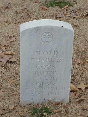 COOK (VETERAN WWII), FLOYD CHARLES - Pulaski County, Arkansas   FLOYD CHARLES COOK (VETERAN WWII) - Arkansas Gravestone Photos