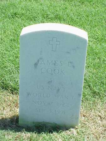 COOK (VETERAN WWII), JAMES L - Pulaski County, Arkansas | JAMES L COOK (VETERAN WWII) - Arkansas Gravestone Photos