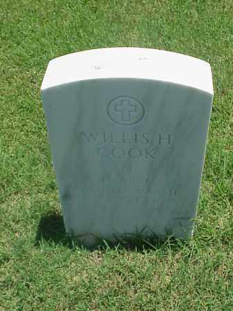 COOK (VETERAN WWII), WILLIS H - Pulaski County, Arkansas | WILLIS H COOK (VETERAN WWII) - Arkansas Gravestone Photos