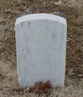 COOLEY, SR  (VETERAN WWII), FRED - Pulaski County, Arkansas   FRED COOLEY, SR  (VETERAN WWII) - Arkansas Gravestone Photos