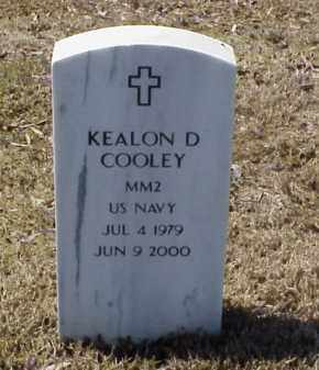 COOLEY (VETERAN), KEALON D - Pulaski County, Arkansas   KEALON D COOLEY (VETERAN) - Arkansas Gravestone Photos