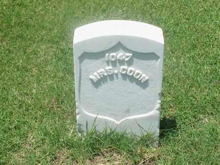 COON, MRS - Pulaski County, Arkansas | MRS COON - Arkansas Gravestone Photos