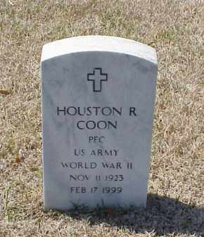 COON (VETERAN WWII), HOUSTON R - Pulaski County, Arkansas | HOUSTON R COON (VETERAN WWII) - Arkansas Gravestone Photos