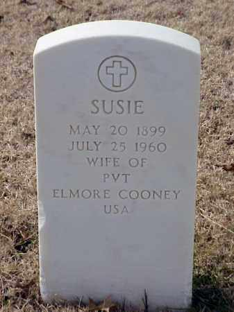 COONEY, SUSIE - Pulaski County, Arkansas | SUSIE COONEY - Arkansas Gravestone Photos