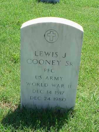 COONEY, SR (VETERAN WWII), LEWIS J - Pulaski County, Arkansas | LEWIS J COONEY, SR (VETERAN WWII) - Arkansas Gravestone Photos