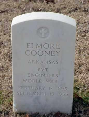COONEY (VETERAN WWI), ELMORE - Pulaski County, Arkansas | ELMORE COONEY (VETERAN WWI) - Arkansas Gravestone Photos