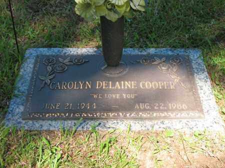 SEBION COOPER, CAROLYN DELAINE - Pulaski County, Arkansas | CAROLYN DELAINE SEBION COOPER - Arkansas Gravestone Photos