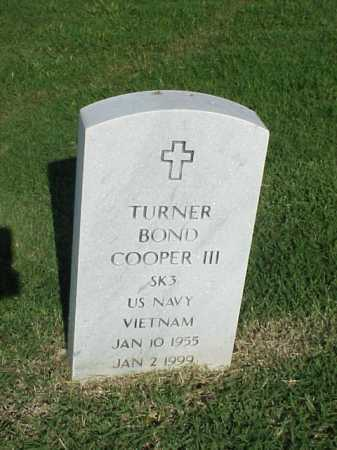 COOPER, III (VETERAN VIET), TURNER BOND - Pulaski County, Arkansas | TURNER BOND COOPER, III (VETERAN VIET) - Arkansas Gravestone Photos