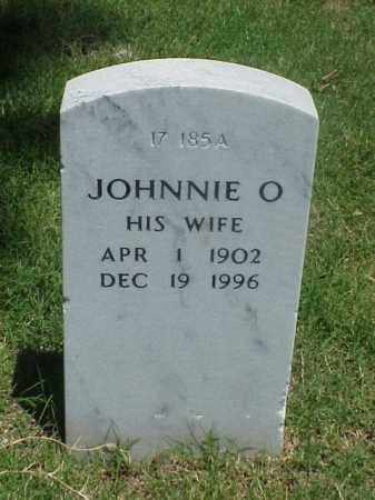 COOPER, JOHNNIE O - Pulaski County, Arkansas | JOHNNIE O COOPER - Arkansas Gravestone Photos