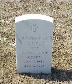 COOPER (VETERAN KOR), ROBERT M - Pulaski County, Arkansas | ROBERT M COOPER (VETERAN KOR) - Arkansas Gravestone Photos