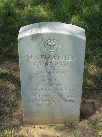 COOPER (VETERAN WWII), NATHANIEL - Pulaski County, Arkansas   NATHANIEL COOPER (VETERAN WWII) - Arkansas Gravestone Photos