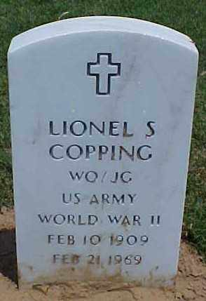 COPPING (VETERAN WWII), LIONEL S - Pulaski County, Arkansas | LIONEL S COPPING (VETERAN WWII) - Arkansas Gravestone Photos