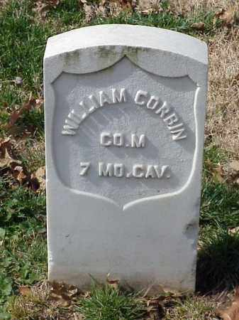 CORBIN (VETERAN UNION), WILLIAM - Pulaski County, Arkansas | WILLIAM CORBIN (VETERAN UNION) - Arkansas Gravestone Photos