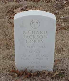 COREY  (VETERAN 2 WARS), RICHARD JACKSON - Pulaski County, Arkansas | RICHARD JACKSON COREY  (VETERAN 2 WARS) - Arkansas Gravestone Photos
