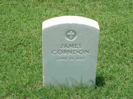 CORNDON, JAMES - Pulaski County, Arkansas | JAMES CORNDON - Arkansas Gravestone Photos