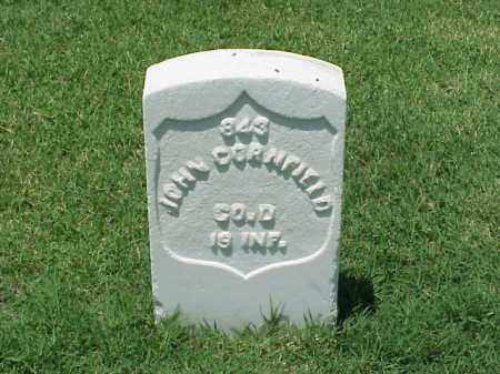CORNFIELD (VETERAN UNION), JOHN - Pulaski County, Arkansas | JOHN CORNFIELD (VETERAN UNION) - Arkansas Gravestone Photos