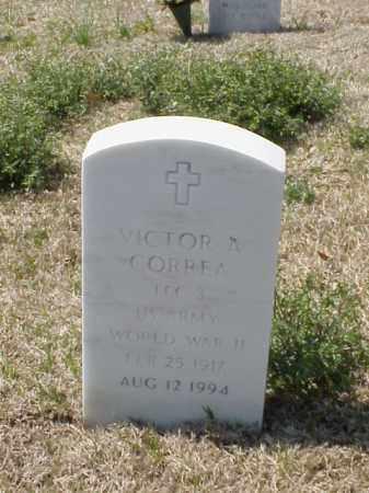 CORREA (VETERAN WWII), VICTOR A - Pulaski County, Arkansas | VICTOR A CORREA (VETERAN WWII) - Arkansas Gravestone Photos