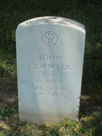 CORWELL (VETERAN WWI), JOHN - Pulaski County, Arkansas | JOHN CORWELL (VETERAN WWI) - Arkansas Gravestone Photos