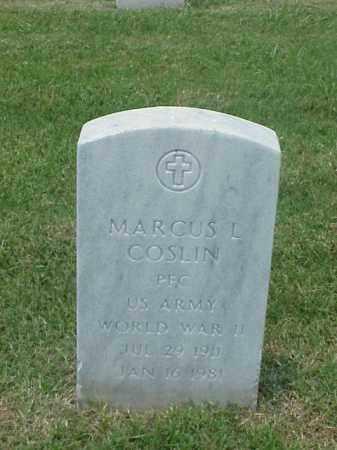 COSLIN (VETERAN WWII), MARCUS L - Pulaski County, Arkansas | MARCUS L COSLIN (VETERAN WWII) - Arkansas Gravestone Photos