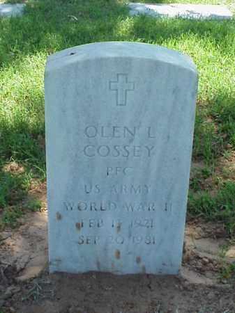 COSSEY (VETERAN WWII), OLEN L - Pulaski County, Arkansas   OLEN L COSSEY (VETERAN WWII) - Arkansas Gravestone Photos