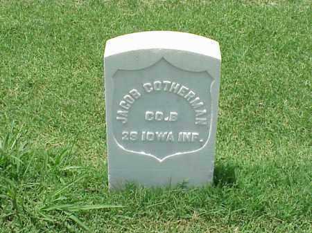 COTHERMAN (VETERAN UNION), JACOB - Pulaski County, Arkansas | JACOB COTHERMAN (VETERAN UNION) - Arkansas Gravestone Photos