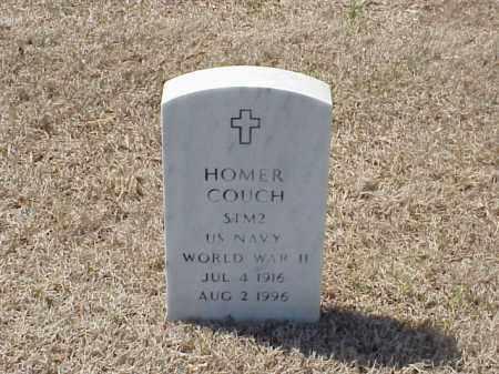COUCH (VETERAN WWII), HOMER - Pulaski County, Arkansas | HOMER COUCH (VETERAN WWII) - Arkansas Gravestone Photos