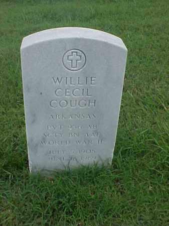 COUCH (VETERAN WWII), WILLIE CECIL - Pulaski County, Arkansas | WILLIE CECIL COUCH (VETERAN WWII) - Arkansas Gravestone Photos